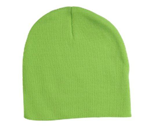 v Safety Green flexfit Cap Heavyweight Knit Yupoong BdqgB