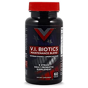 Advanced Probiotics Supplement by Vos Infinitum-High Potency 6 Strains - 750 Million CFU's - Supports Healthy Digestion, Improves Immunity, Enhanced Absorption-60 Vegetable Capsules