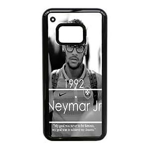 HTC One M9 funda [Material PC] Neymar HD temático solamente para HTC One M9 [Color: Negro] LOJSGOSDL9976
