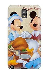 Awesome LINFiCC3145YZZpb Bareetttt Defender Tpu Hard Case Cover For Galaxy Note 3- Thanksgivings