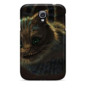 Perfect Hard Cell-phone Case For Samsung Galaxy S4 (YbV6284vsTt) Support Personal Customs Vivid Cheshire Cat Pattern