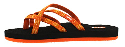 Femme W's Tongs 872 Orange Olowahu hazel Teva Uqwxt7SW