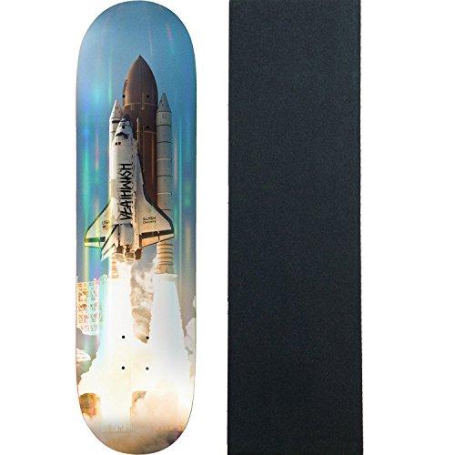 イル極地シャーロットブロンテDeathwishスケートボードデッキSlash Lift Off 8.25