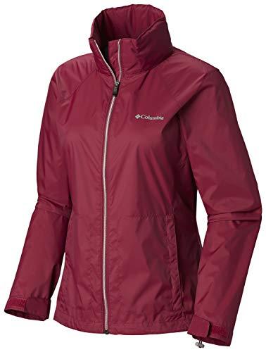 (Columbia Women's Switchback III Jacket, Wine Berry Large)