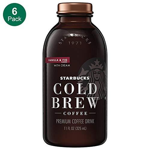 Starbucks, Cold Brew, Vanilla Fig & Cream, 11 fl oz. glass bottles (6 Pack)
