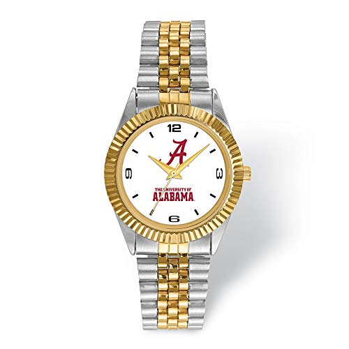 Lex and Lu The University of Alabama Pro Two-tone Gents Watch UAL165