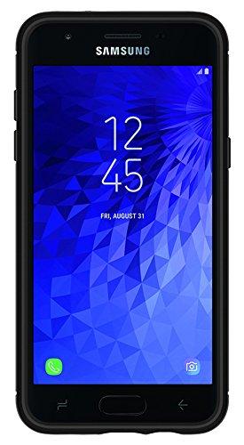 Spigen Rugged Armor Galaxy J3 Case, Galaxy J3 Eclipse 2,Galaxy J3 Orbit, Galaxy J3 2018 case with Flexible and Durable Shock Absorption with Carbon Fiber Design for Samsung Galaxy J3 (2018) - Black by Spigen (Image #5)