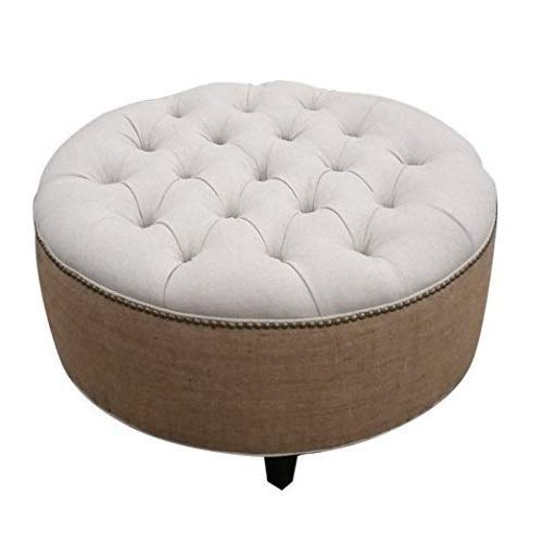 Design 59 inc Tufted Round Ottoman