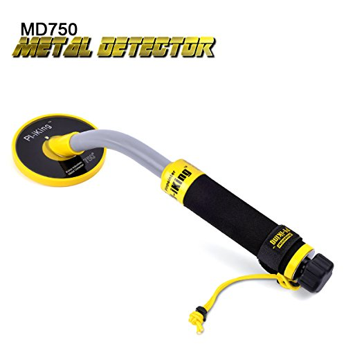 750 Underwater Metal Detector with Vibration and LCD Detection Indicator - PI Waterproof Probe Pulse Induction Technology Metal Detector Handheld Targeting Pinpointer by SHUOGOU by SHUOGOU