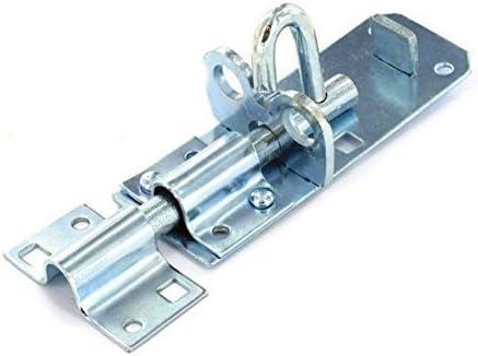 DIY Materials Brenton Padbolt garden gate padlock bolt latch lock zinc plated 6