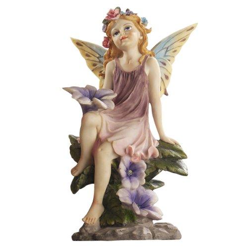 Design Toscano The Fairy Dust Garden Flower Statue Collec...