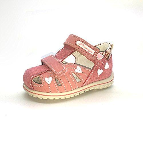 Primigi Baby Mädchen Vania Lauflernschuhe Pink - Rose (Nabuk/Scamoscia Barbie/Geranio)
