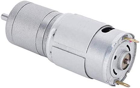ZJN-JN ギアモーター、メタルギアボックス中央の出力軸永久磁石を24Vの低電流DC伝送率減少モーターは電気ファン家電ロボットのモーターをギヤード 工業用モータ