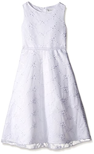 White Angels Embroidered Dress - 3