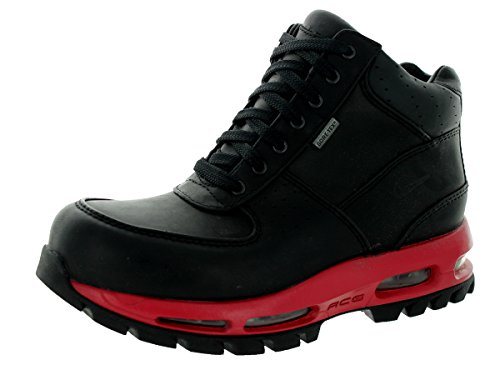 Nike Air Max Goadome Gtx Style Shoes 314475, Black/Black-Varsity Red, 7 by NIKE