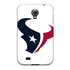 ErleneRobinson Samsung Galaxy S4 Anti-Scratch Hard Cell-phone Case Unique Design Colorful Houston Texans Skin [mLu17696IcHj]