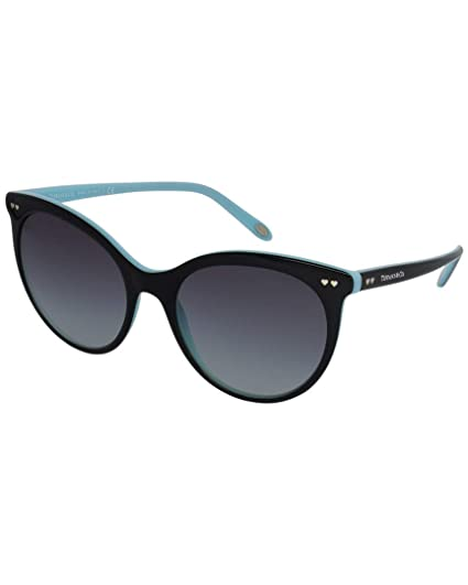 564221c7cdc46 TIFFANY Women's 0TY4141 80553C 55 Sunglasses, Black/Blue ...