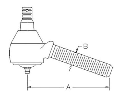 Amazon Com 363161r92 Rear Drag Link End For Case Ih Tractor Models