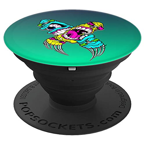 Fearless Zombie Skateboard Eyeball - PopSockets Grip and Stand for Phones and -