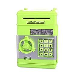 Storage Boxes & Bins - Automatic Deposit Banknote Kids Electronic Piggy Bank Atm Password Money Box Cash Coins Saving Safe - Boxes Bins Storage Storage Boxes Bins Safe Money Cash Deposit Clip Co