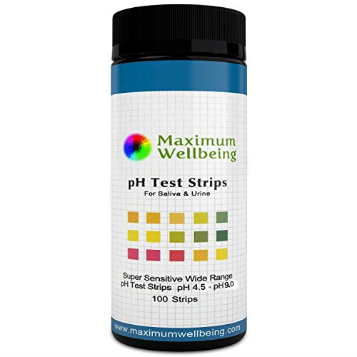 (The Original Premium Quality Ph Test Strips for Urine and Saliva. A Fast, Accurate Way to Test Your Body Acid Alkaline Balance. More Accurate Than Litmus Paper or Ph Paper.)