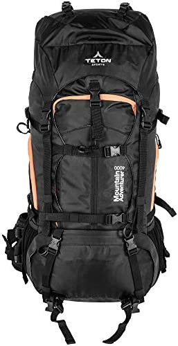 TETON Sports Ultralight Plus Backpacks Lightweight Hiking Backpack for Camping, Hunting, Travel, and Outdoor Sports