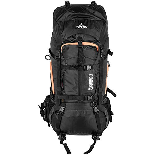 TETON Sports Mountain Adventurer 4000 Ultralight Plus Backpack; Lightweight Hiking Backpack for Camping, Hunting, Travel, and Outdoor Sports