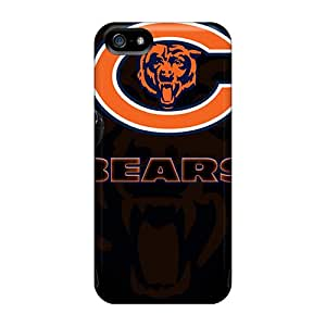 Hot Tpye Chicago Bears Case Cover For Iphone 5/5s