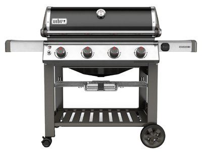 Weber 67010001 Genesis II E-410 Natural Gas Grill, Black, Four-Burner, (Weber Grill Conversion Kit Propane To Natural Gas)