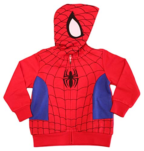 Spiderman Marvel Little Boys Costume Hoodie (3T) ()