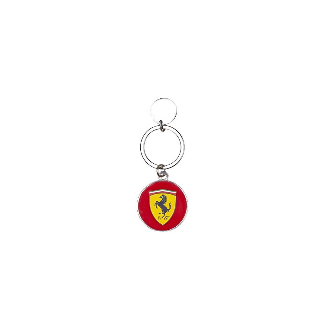 Scuderia Ferrari Formula 1 Authentic 2018 Leather Shield Keychain