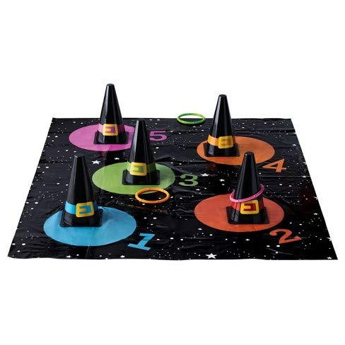 Hyde and Eek Halloween Witch Hat Ring Toss Game - Perfect Activity for Kids Halloween Party by Hyde and Eek