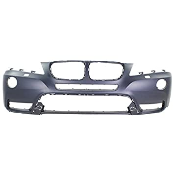11-14 X3 Front Bumper Cover Assembly Primed w//o M Package BM1000253 51117261188