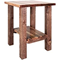Montana Woodworks Homestead Collection Nightstand/End Table with Shelf