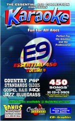 Chartbuster Essential 450 Collection Vol. 9 CD+G ()