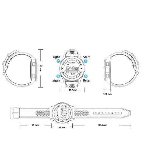 ... Bluetooth Actividad Sueño Monitor Toque Pantalla Presión Arterial De Oxígeno Sanguíneo Monitoreo para De Hombres Mujeres Niños,L3: Amazon.es: Hogar