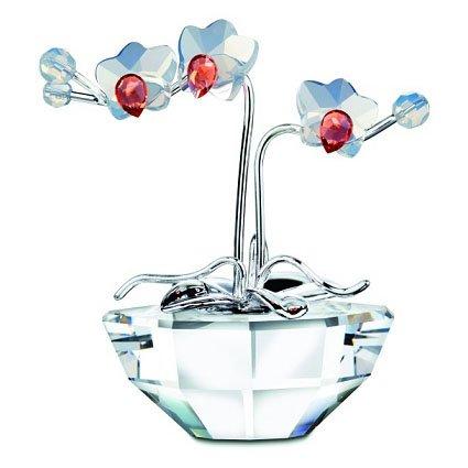 Swarovski Orchid Blooming Tree Crystal Figurine - Retired (Swarovski Orchids)