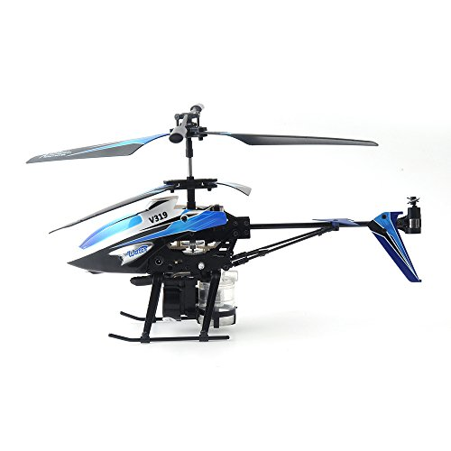 Gizmovine Wltoys V319 Spray RC Helicopter 3.5CH Gyro Water Shooting