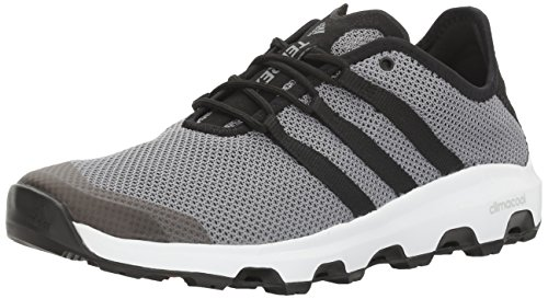 adidas outdoor Men's Terrex Climacool Voyager Water Shoe, Black/Onix, 7.5 M US