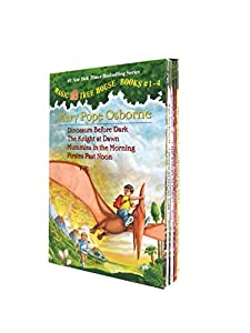Magic Tree House Boxed Set, Books 1-4: Dinosaurs Before Dark, The Knight at Dawn, Mummies in the Morning, and Pirates Past Noon from Random House Books for Young Readers