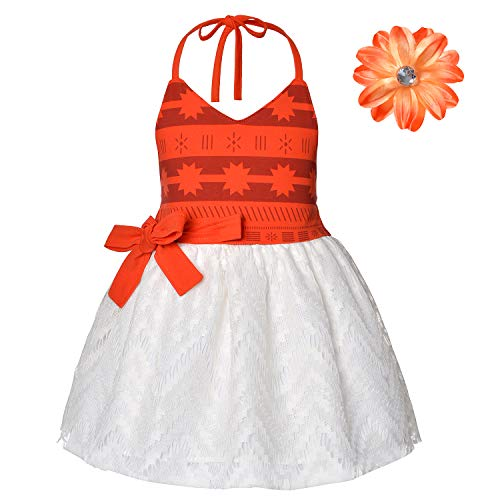 Baby Girls First Birthday Party Costume Toddler Dress With Headband 6-12 Months