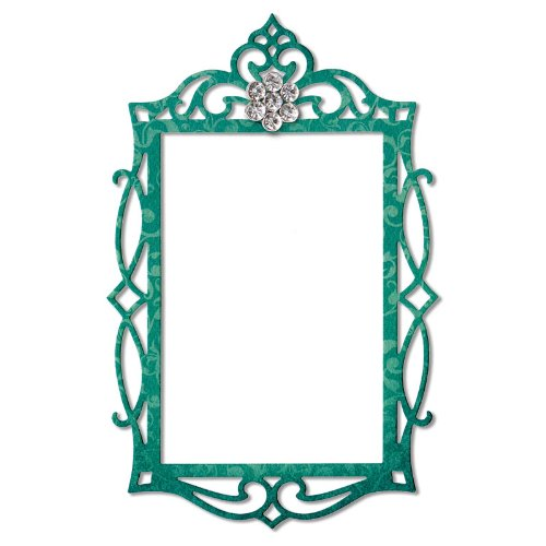 Sizzix Thinlits Frame/Fancy Rectangle Die Ellison 658948