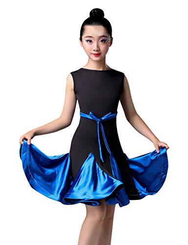 Salsa Costumes For Kids - Happy Cherry Girls Latin Dance Dress,