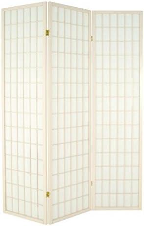 H-Design Biombo Blanco Madera Maciza Pekín 179x 131cm: Amazon.es: Hogar