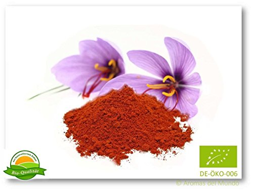 Aroma natural Safran gemahlen spanisch (kbA) 1 g, 1er Pack (1 x 1 g)