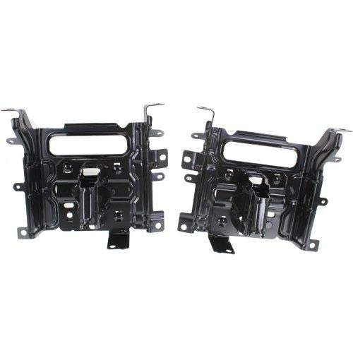 Go-Parts OE Replacement for 2013-2015 Dodge Ram 1500 Front Bumper Bracket (Pair, Driver & Passenger) 68232485AA CH1061104 (2013 Dodge Ram 1500 Front Bumper Replacement)