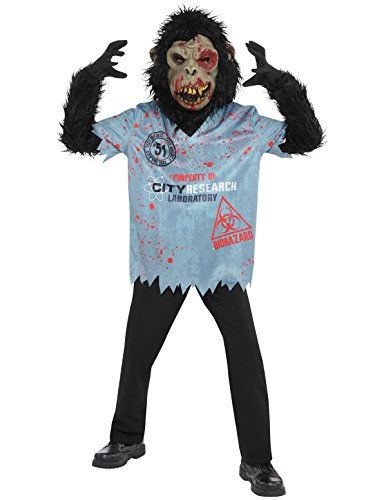 Chimpan Zombie Child Costume - (Zombie Chimp Child Costumes)