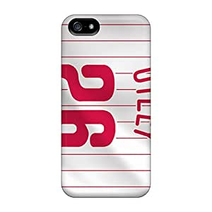 Protective Tpu Case With Fashion Design For Iphone 5/5s (philadelphia Phillies)