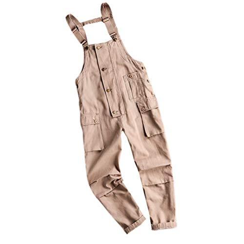 [해외]Tenflow 남성 바인더 작업 바지 뽀 빠이 바지 올인원 멜 빵 작업복 롱 팬츠 hiphop 무대 의상 / Tenflow Men`s Joint Overall Salopette All-in-One Suspender Work Wear Long Pants Hiphop Stage Costume