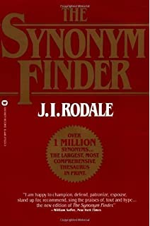 The Synonym Finder: J I  Rodale: 9780446370295: Amazon com
